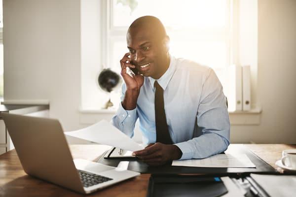 Boka tid hos en företagsmäklare
